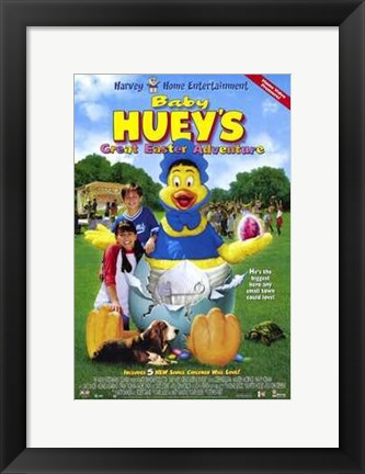 Framed Baby Huey's Great Easter Adventure Print