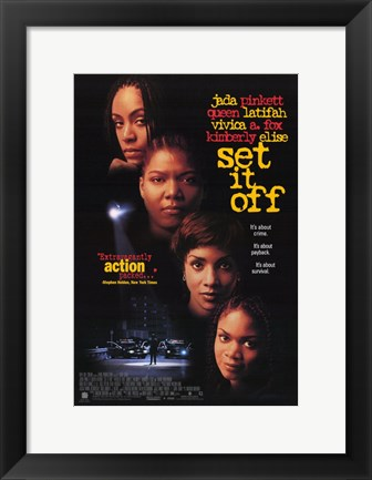 Framed Set it Off Print