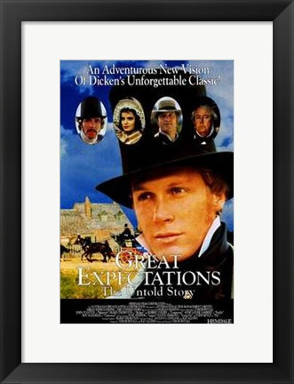 Framed Great Expectations: the Untold Story Print