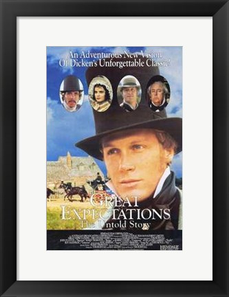 Framed Great Expectations - the Untold Story Print