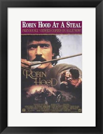 Framed Robin Hood At A Steal Print