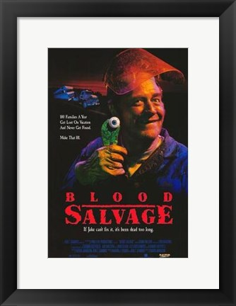 Framed Blood Salvage Print