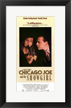 Framed Chicago Joe and the Showgirl Print