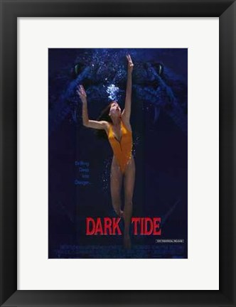 Framed Dark Tide Print