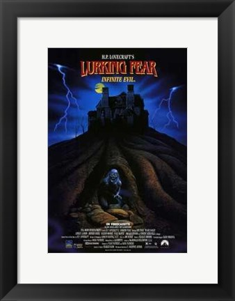 Framed Lurking Fear Print