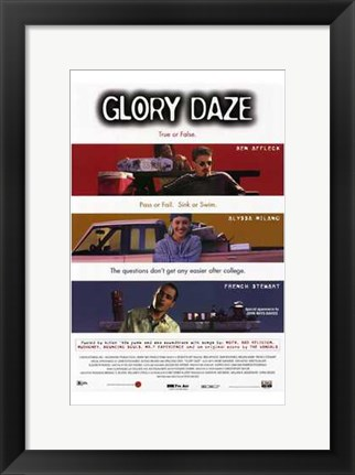 Framed Glory Daze Print