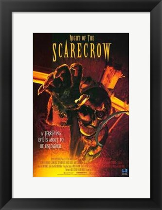 Framed Night of the Scarecrow Print