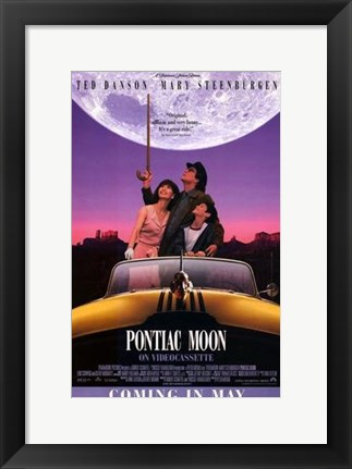 Framed Pontiac Moon Print