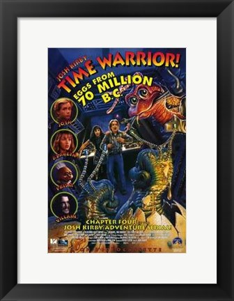 Framed Josh Kirby Time Warrior Print