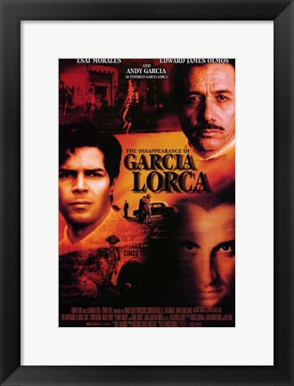 Framed Disappearance of Garcia Lorca Print