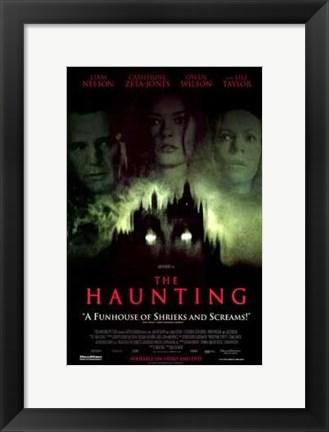 Framed Haunting Movie Print