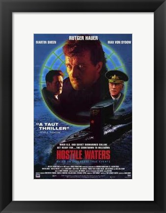 Framed Hostile Waters Print
