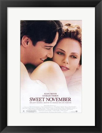 Framed Sweet November Print