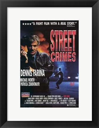 Framed Street Crimes Print