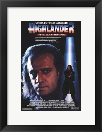 Framed Highlander: the Gathering Print