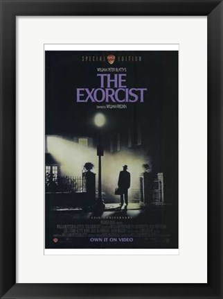 Framed Exorcist Purple Print