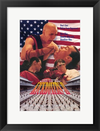 Framed American Shaolin: King of the Kickboxers Print