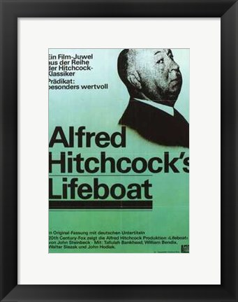 Framed Lifeboat Print