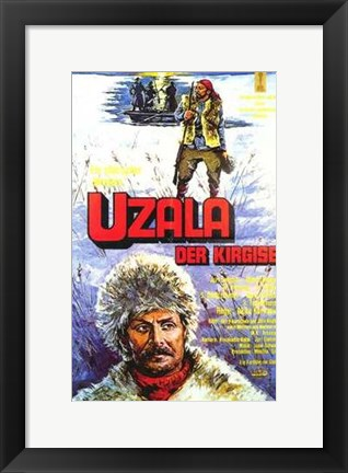 Framed Dersu Uzala (the Hunter) Print