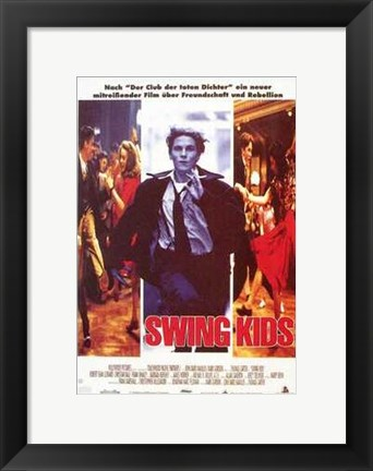 Framed Swing Kids Print