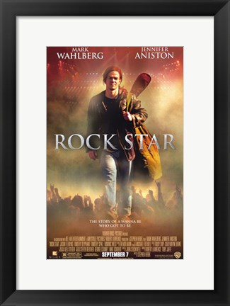 Framed Rock Star Print