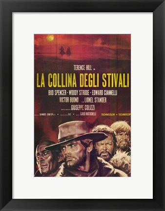 Framed Boot Hill Print