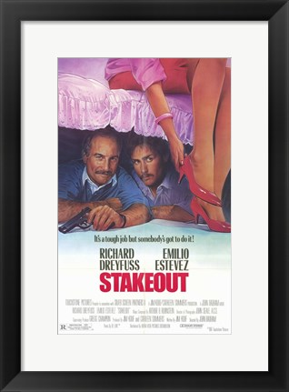 Framed Stakeout Print
