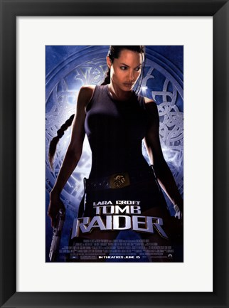Framed Lara Croft: Tomb Raider Print
