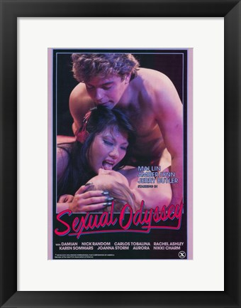 Framed Sexual Odyssey Print