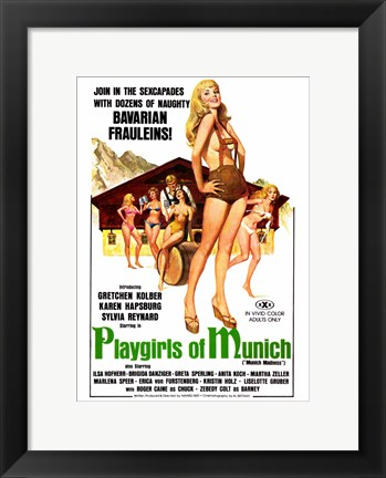 Framed Playgirls of Munich Print