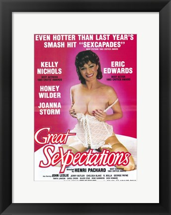Framed Great Sexpectations Print