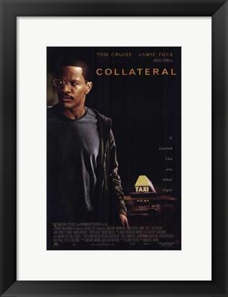 Framed Collateral Jamie Fox Print