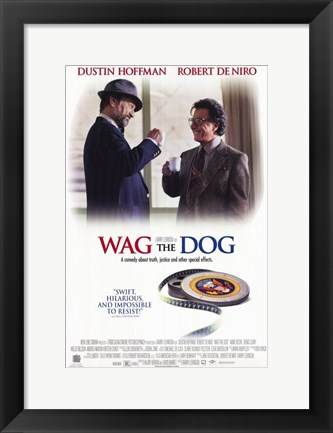 Framed Wag the Dog movie poster Print