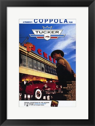 Framed Tucker: the Man and His Dream Diner & Classic Car Print