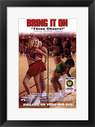Framed Bring it on Print