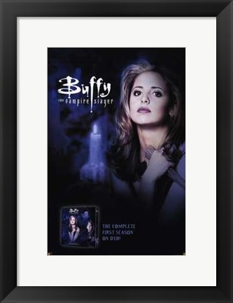 Framed Buffy the Vampire Slayer Print