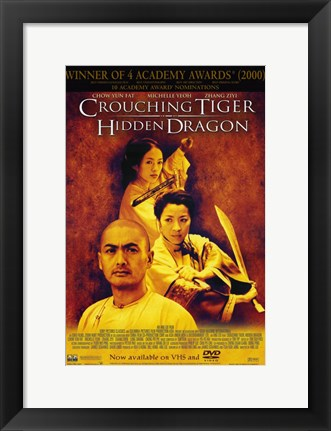 Framed Crouching Tiger Hidden Dragon Print