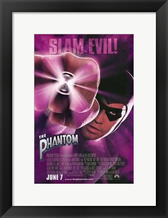 Framed Phantom - Slam Evil! Print