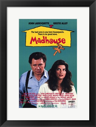 Framed Madhouse Print