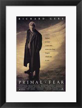 Framed Primal Fear Print