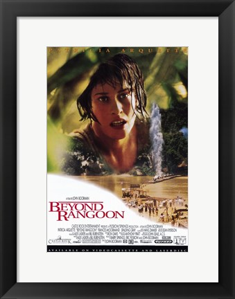 Framed Beyond Rangoon Print