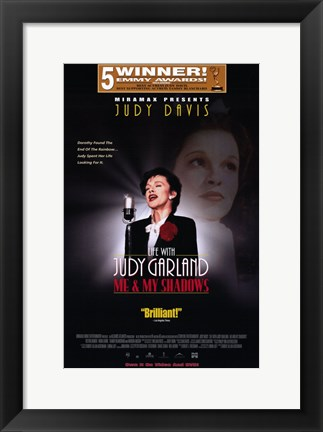Framed Life with Judy Garland: Me and My Shadow Print