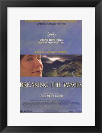 Framed Breaking the Waves Print