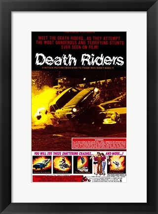 Framed Death Riders Print
