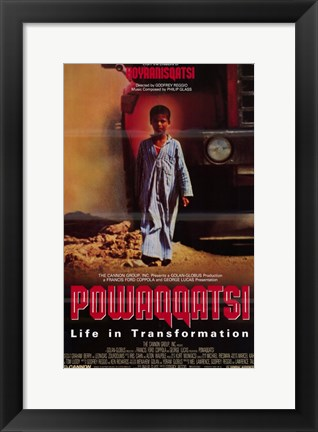 Framed Powaqqatsi: Life in Transformation Print