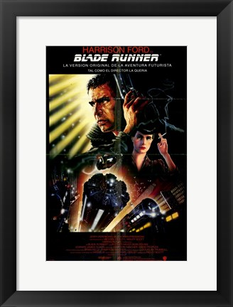 Framed Blade Runner Sean Young Print