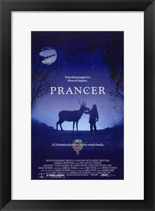Framed Prancer Print