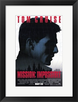 Framed Mission: Impossible Print