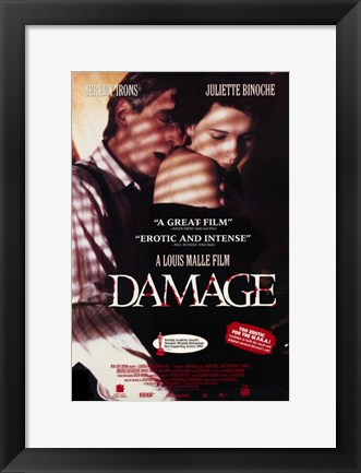 Framed Damage Juliette Binoche Print
