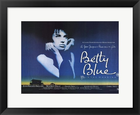 Framed Betty Blue Print